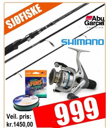 Shimano Alivio 2500/ Abu Vigilante 9� (15-40 gr)