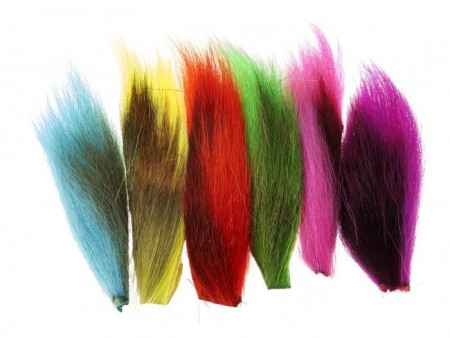 Bucktail Mix Fluorescent Colors