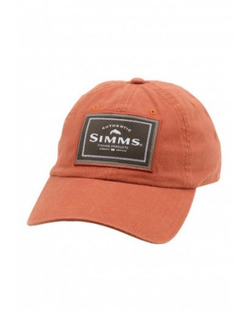 Simms Single Haul Cap Simms Orange