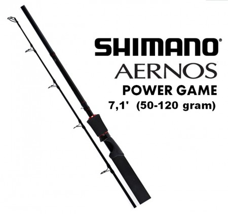 Shimano Aernos Power Game 7,1´ (50-120 gr)