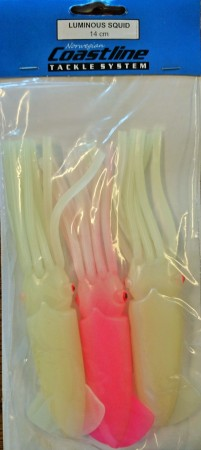 LUMINOUS SQUID 14 cm (3-pk)