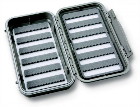 C&F 3566 Large 12-Row WP Fly Case (CF-3566) Light Grey