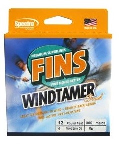 Fins Windtamer - 150 yds (moss green)