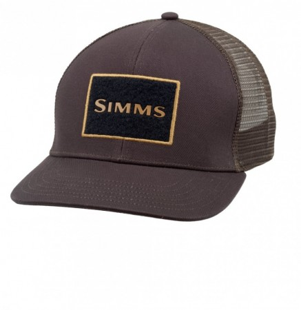Simms High Crown Trucker Bark
