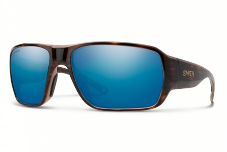 Smith Castaway Tortoise Polar Blue Mirror