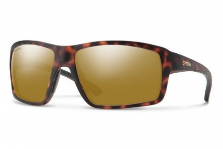 Smith Redding Matte Amber Tortoise Polar Bronze Mirror