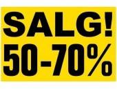 SALG! (haspel/sluk)