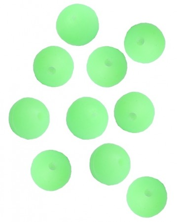 Soft Beads - GREEN GLOW!