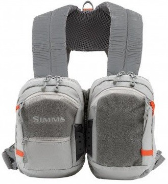 Simms Waypoints Dual Chest Pack Gunmetal