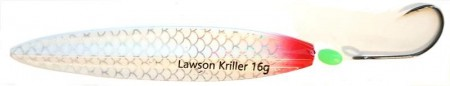 Lawson Kriller 16 g White Pearl Red Butt