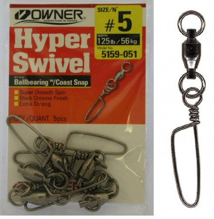 Owner Kulelager-Swivel m/hempe