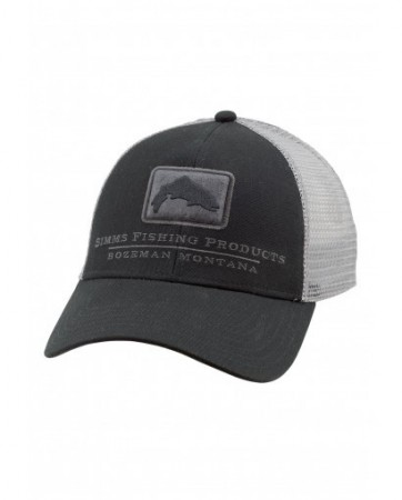 Simms Trout Icon Trucker Black
