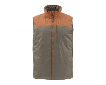 Simms Midstream Insulated Vest Saddle Brown  (Medium)