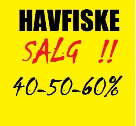 HAVFISKE-SALG!