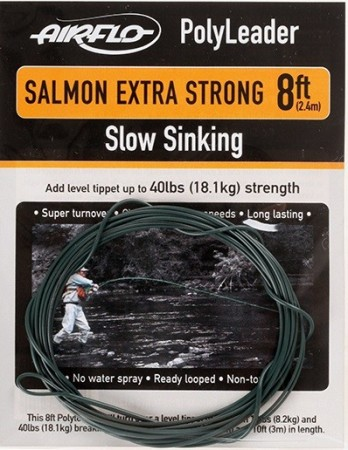 Airflo 8´ Polyleader Salmon X-strong