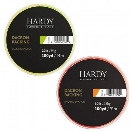 Hardy Backing 30Lb - 100 Yards Orange