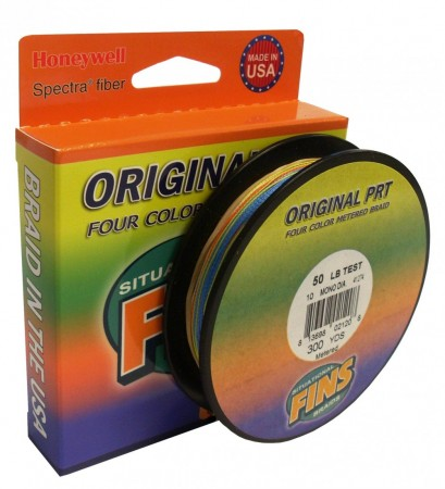 Fins Fly Line Backing MultiColor 20 lb (300 yds)