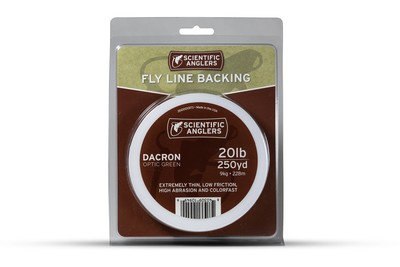 SA Dacron backing 30lb (250 yds) Optic Green