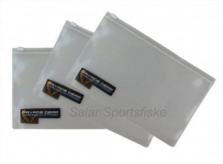 SG Tackle ZipLock lommer XL (36 x 20 cm) 10-pkn