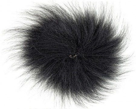Arctic Fox Tail Black XL